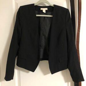 H&M open front blazer, size 10